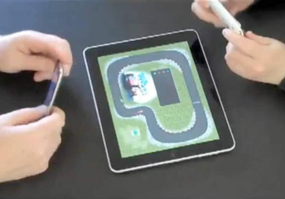 PadRacer, jeu de circuit virtuel pour iPad et iPhone