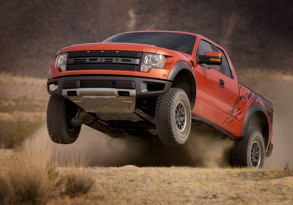 Nouveau moteur pour le Ford F-150 SVT Raptor