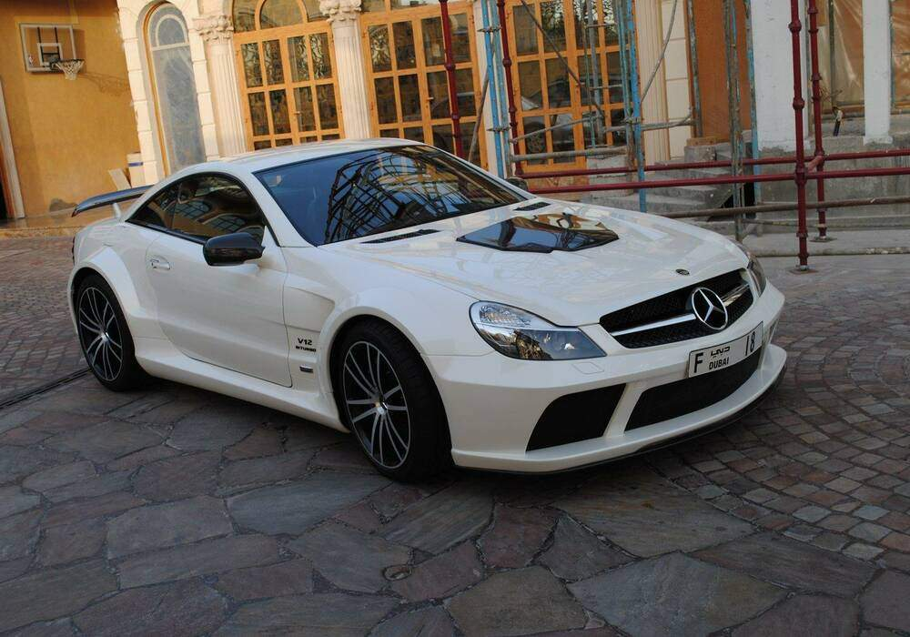 Brabus Stealth 65, plus de 800 chevaux pour la Mercedes SL65 AMG Black Series