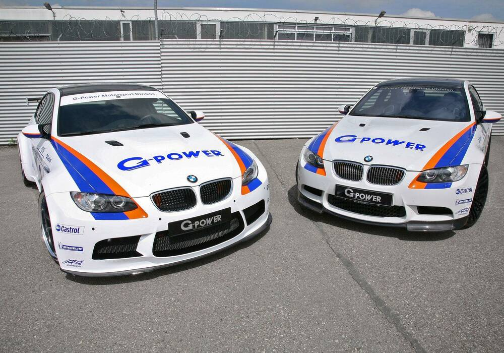 G-Power M3 GT2 S et M3 Tornado CS, 600 chevaux de BMW M3