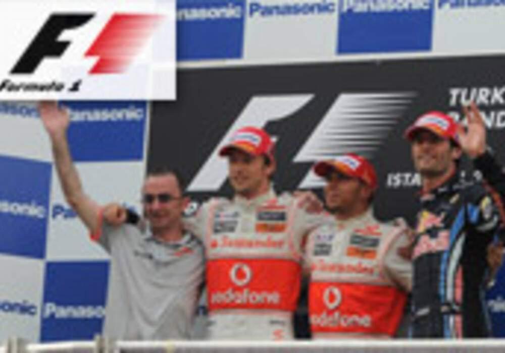 Formule 1 - Turquie : Doublé McLaren, victoire d'Hamilton
