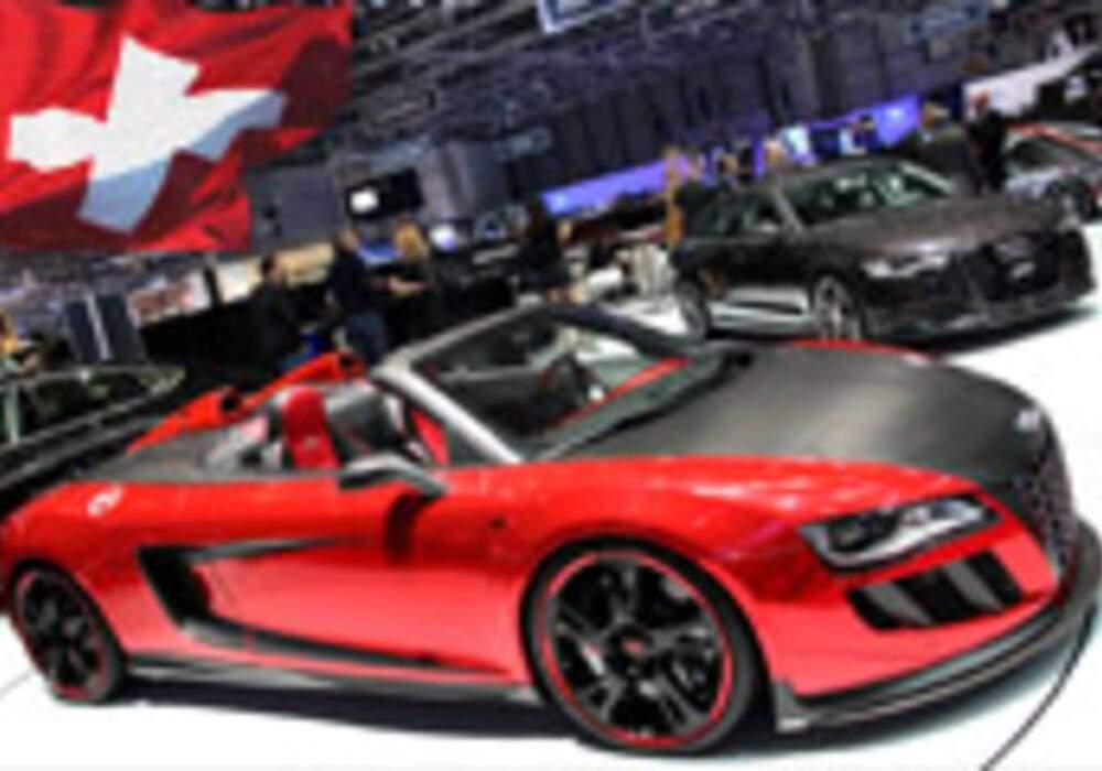 Genève Direct : Abt R8 V10 Spyder GTS