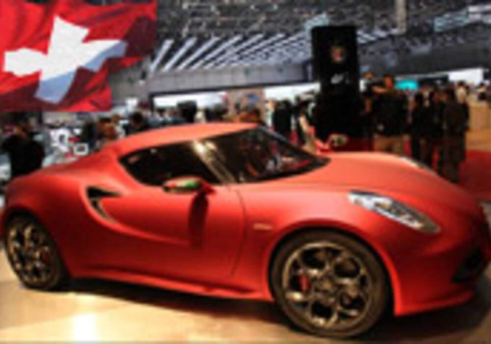 Genève Direct : Alfa Romeo 4C Concept