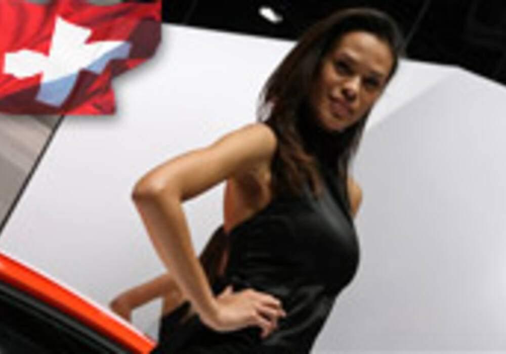 Les hôtesses du salon de Genève 2011 - Partie 1