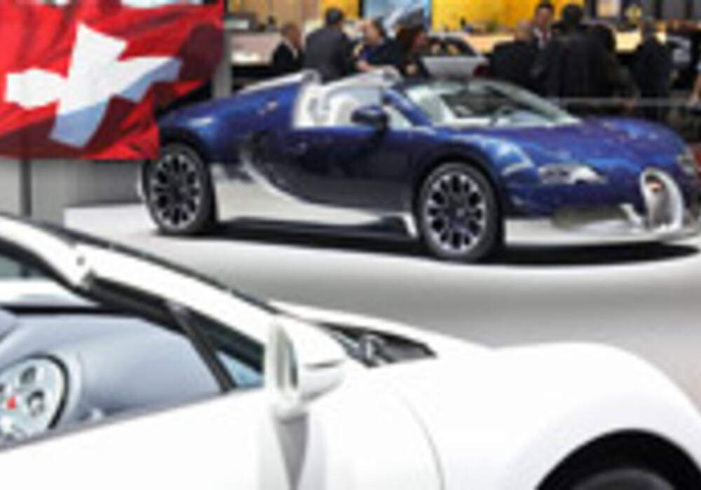Genève Direct : Bugatti Veyron Grand Sport