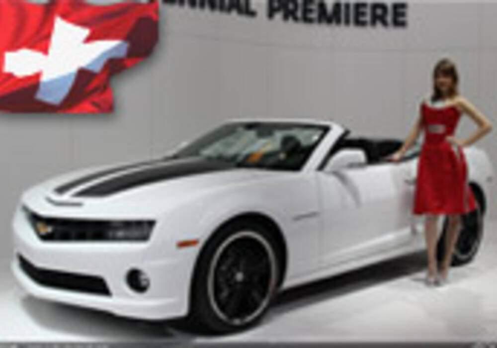 Genève Direct : Chevrolet Camaro Cabriolet