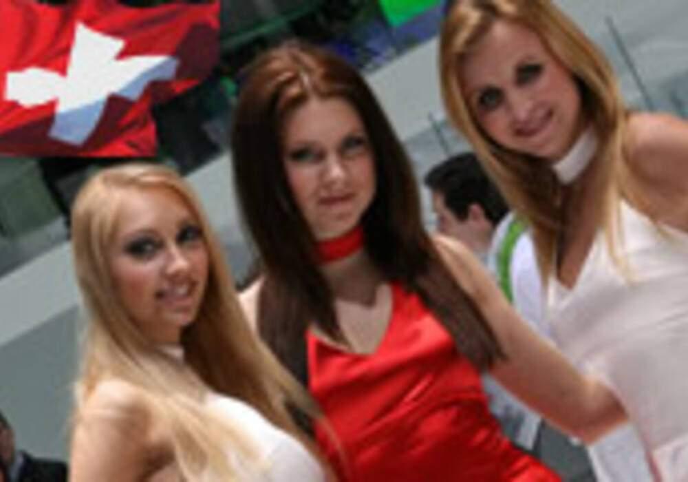 Les hôtesses du salon de Genève 2011 - Partie 5