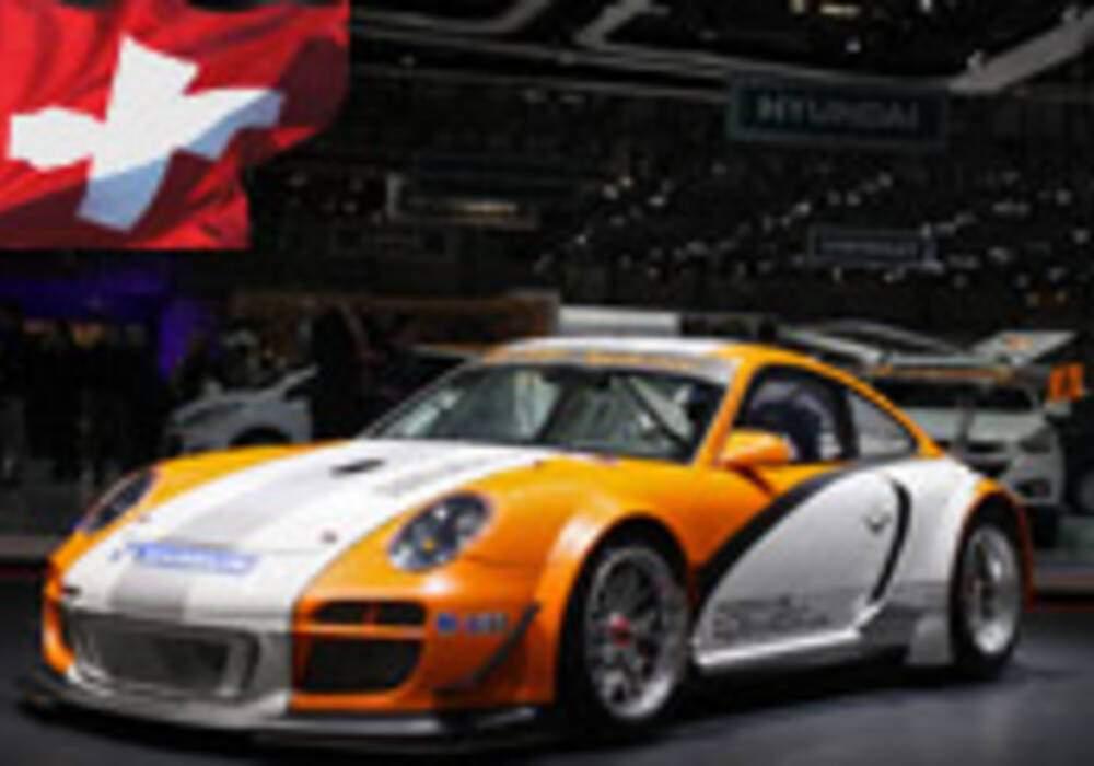 Genève Direct : Porsche 911 GT3 R Hybrid