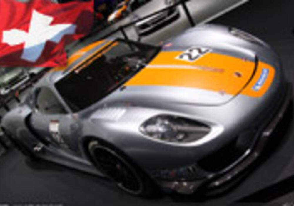 Genève Direct : Porsche 918 RSR