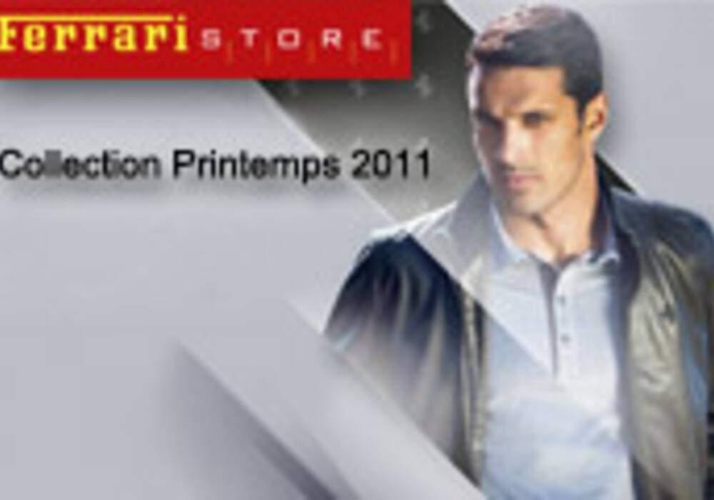 « Ferrari Store » Collection Printemps 2011