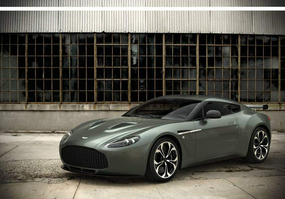 L'Aston Martin V12 Zagato présentée au Koweït