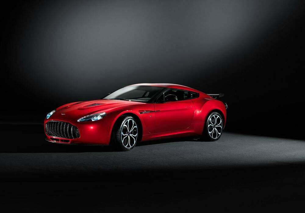 L'Aston Martin V12 Zagato dévoilée