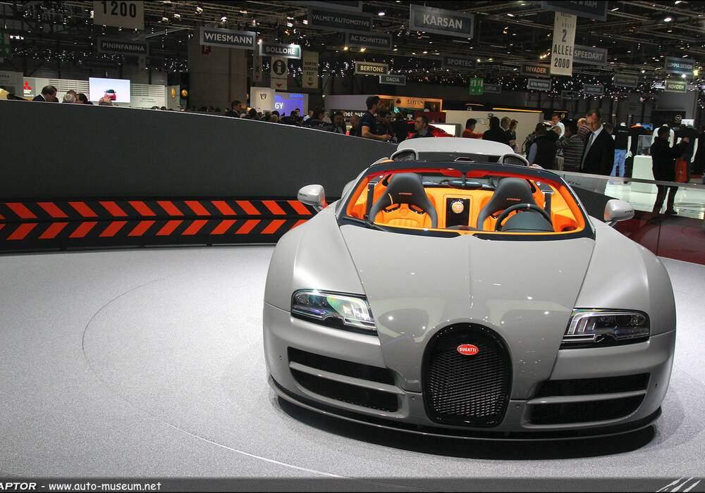 Genève Direct : Bugatti Veyron Grand Sport Vitesse