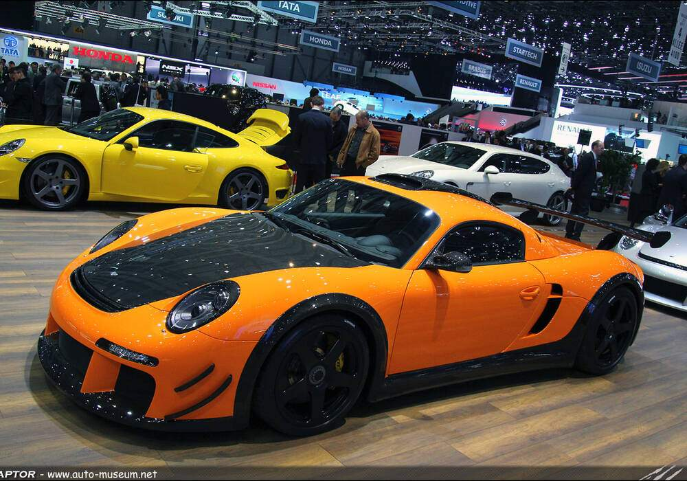 Genève Direct : Ruf CTR3 Clubsport