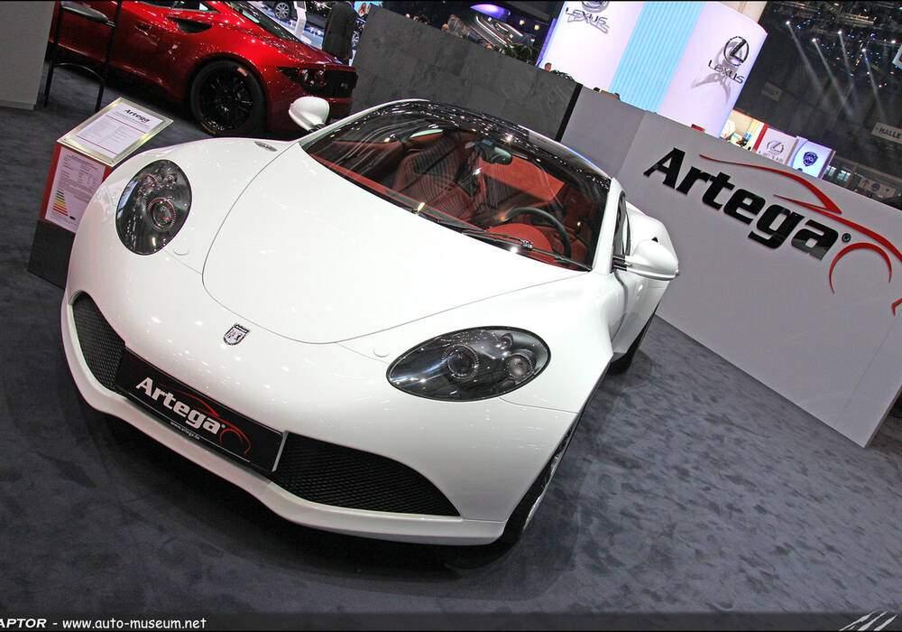 Genève Direct : Artega GT Roadster
