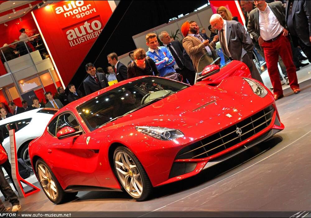 Genève Direct : Ferrari F12 Berlinetta