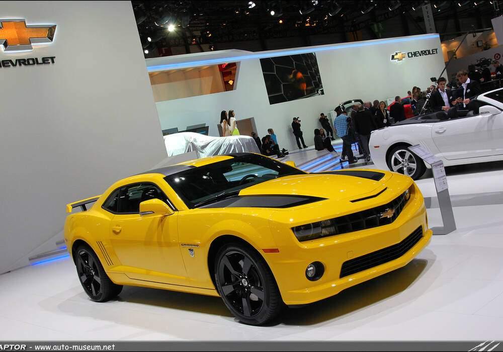 Genève Direct : Chevrolet Camaro Transformers Special Edition
