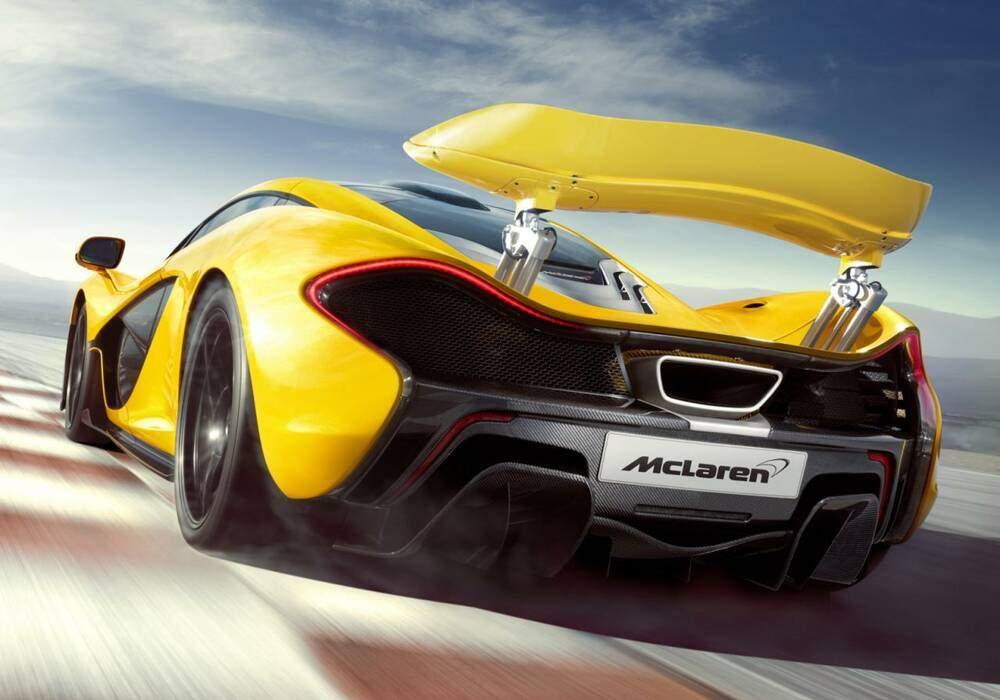 McLaren dévoile la P1