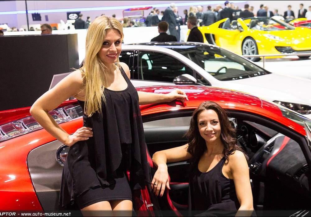 Les hôtesses du salon de Genève 2013 - Partie 1