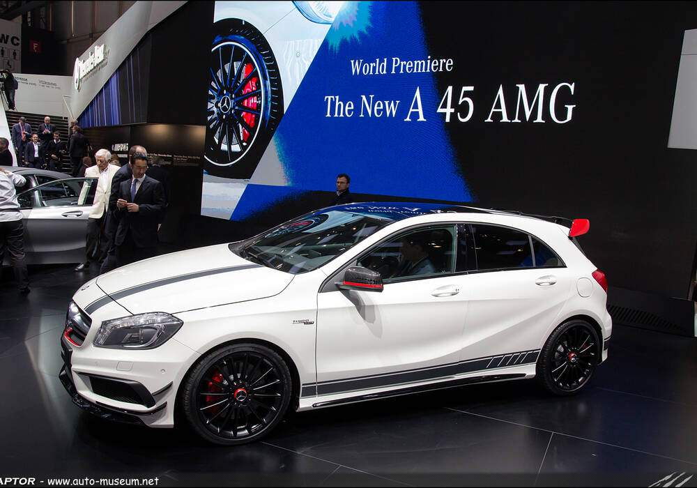 Genève Direct : Mercedes-Benz A 45 AMG Edition 1