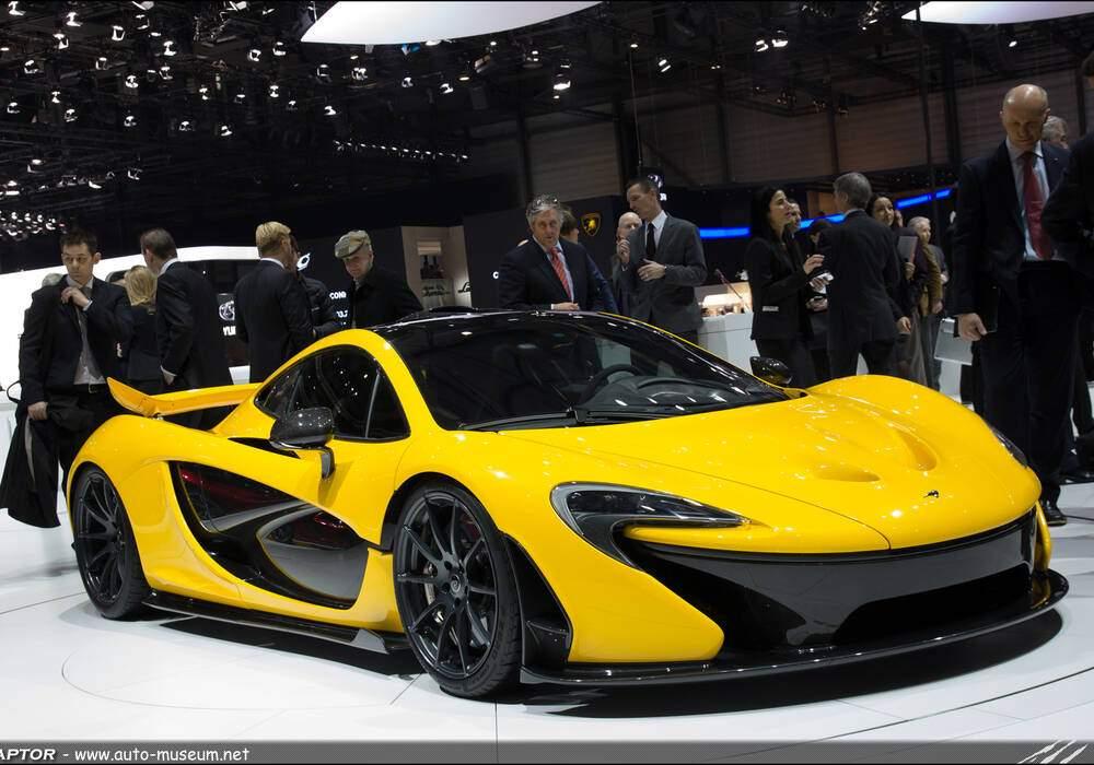 Genève Direct : McLaren P1