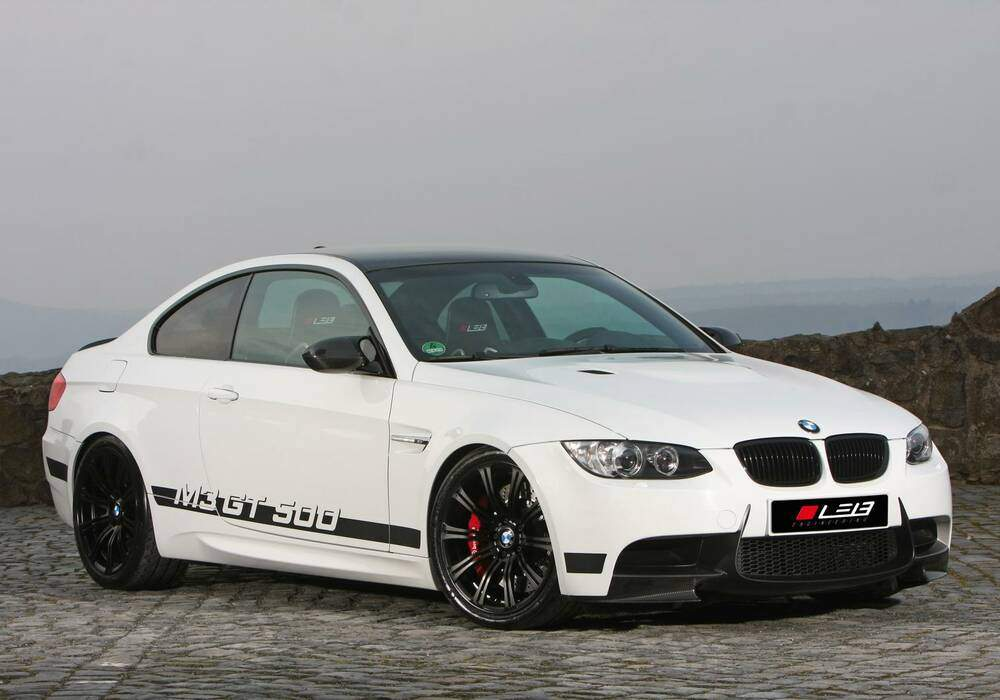 Leib Engineering prépare la BMW M3 E92