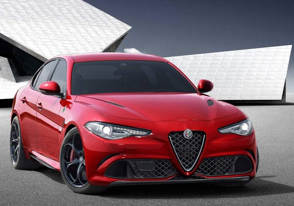 Vidéo promotionnelle pour l'Alfa Romeo Giulia QV