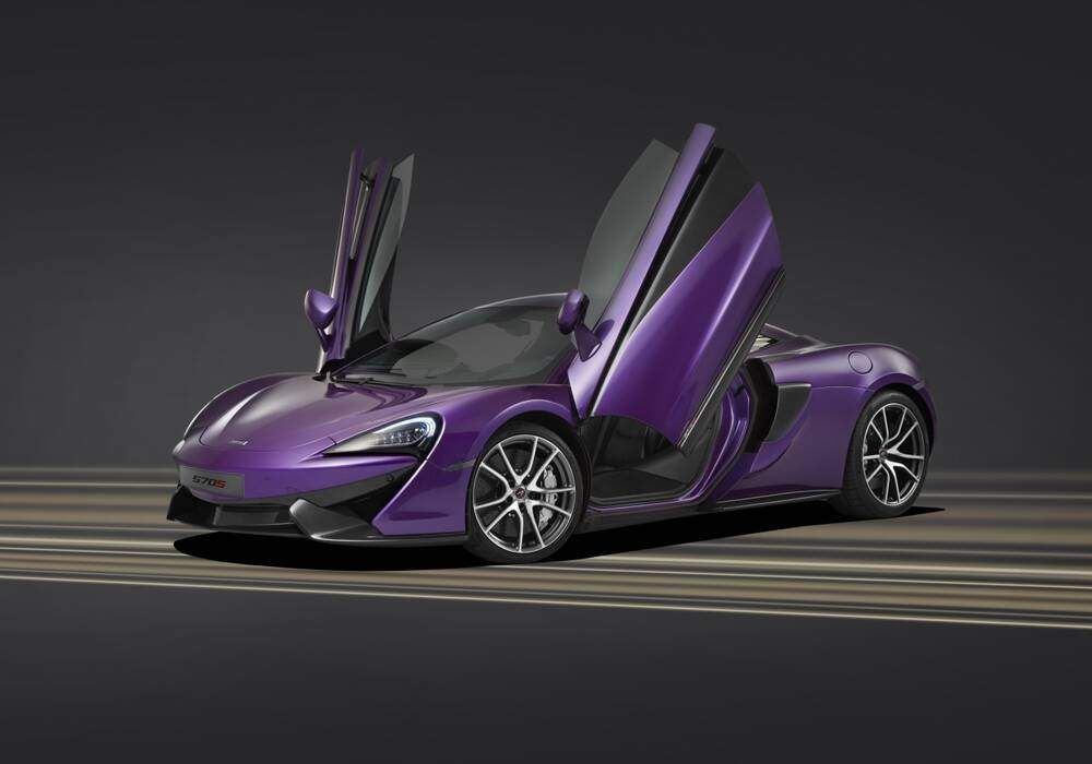 Deux McLaren 570S à Pebble Beach