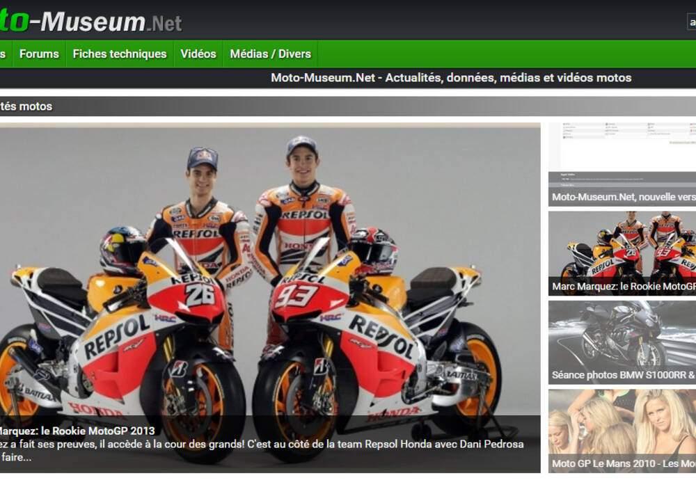 Moto-Museum.Net, nouvelle version