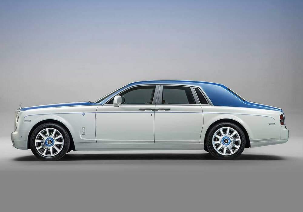 Rolls-Royce Phantom Nautica, ambiance yacht