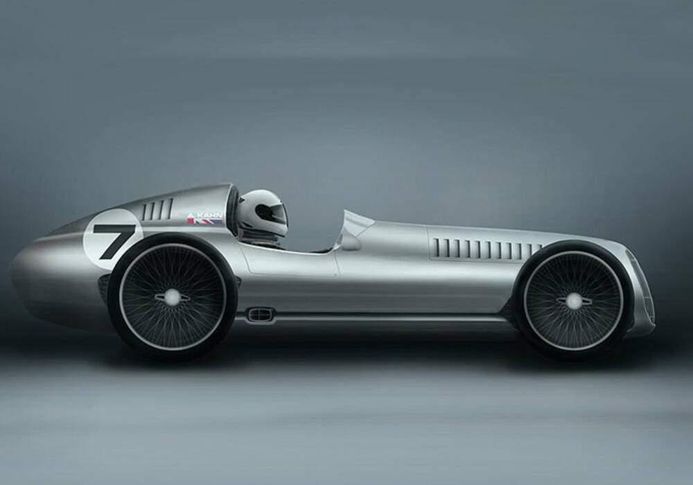Kahn Design Speed Seven, premiers clichés