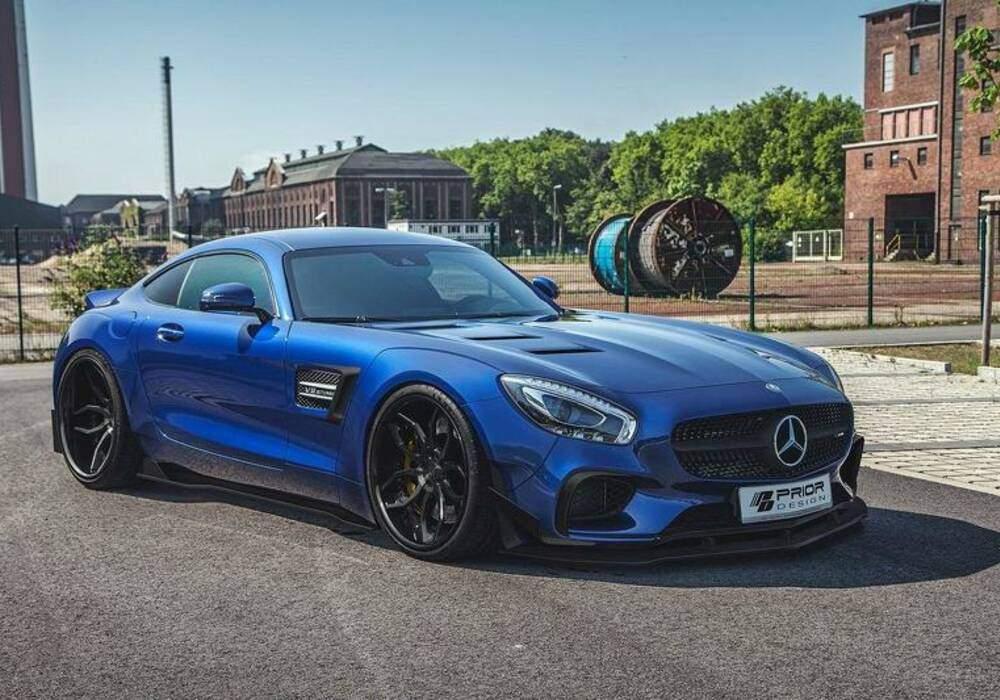 Kit large pour la Mercedes-AMG GT S par Prior-Design