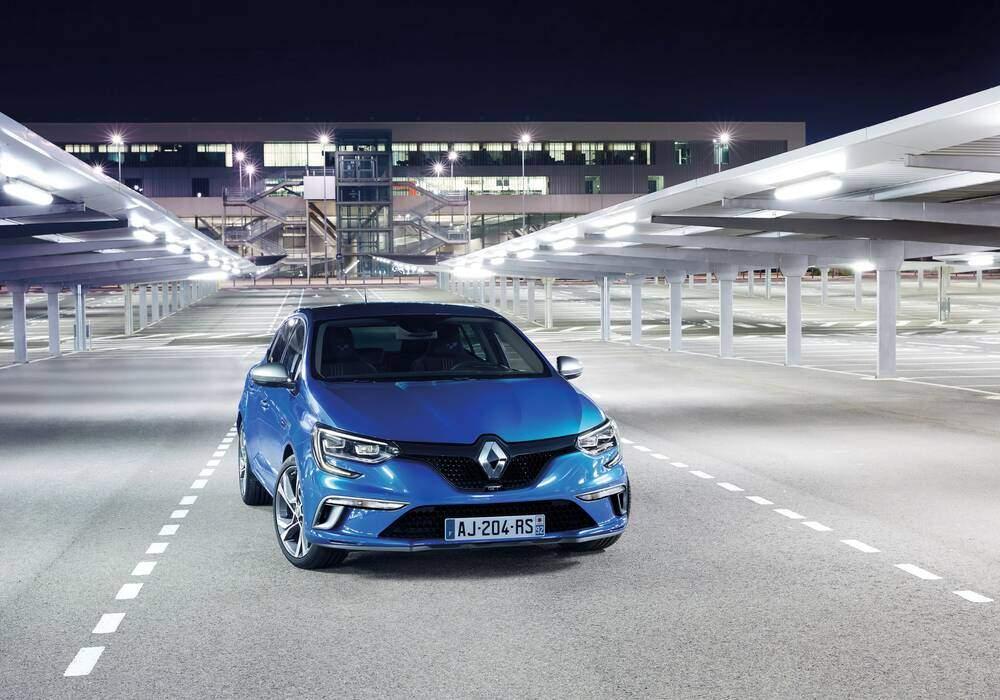 Renault dévoile en partie la nouvelle Mégane