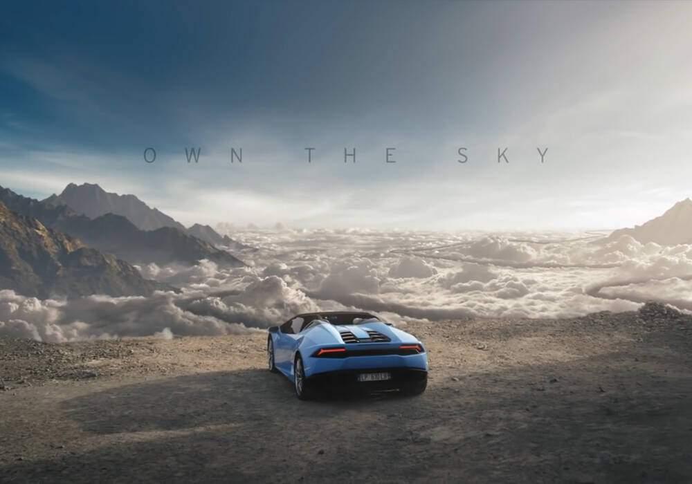 Lamborghini Huracan Spyder, la vidéo promotionnelle