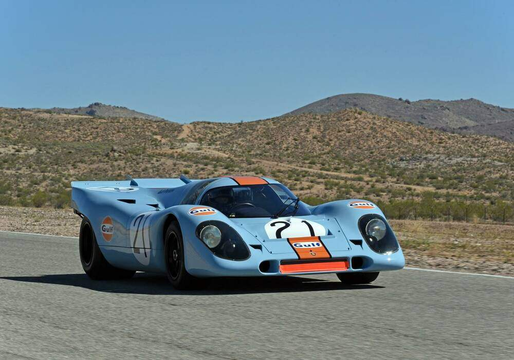 Restauration d'une Porsche 917K