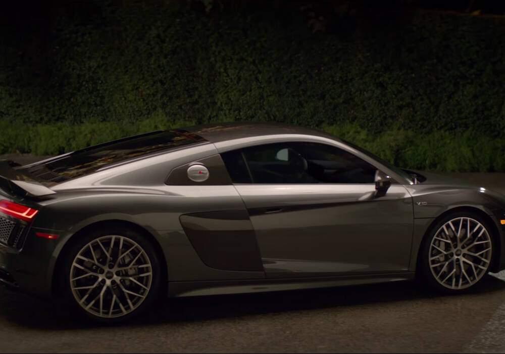 Audi R8 V10 Plus, publicité pour le Super Bowl