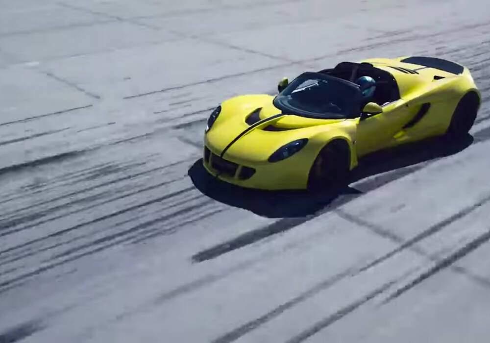 Hennessey Venom GT Spyder, nouveau record en vue