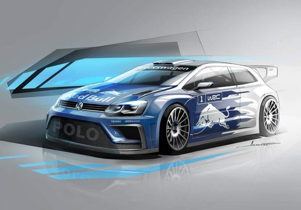 Volkswagen Polo R WRC 2017, un nouveau dessin