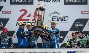 Yamaha s'impose aux 24 Heures Motos