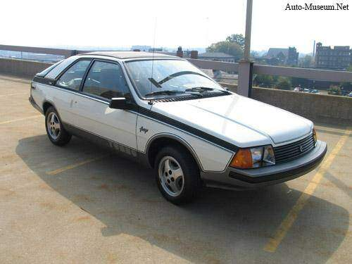 fiche technique renault fuego turbo  1984