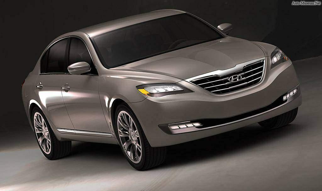 Hyundai Genesis Concept (2007),  ajouté par Raptor