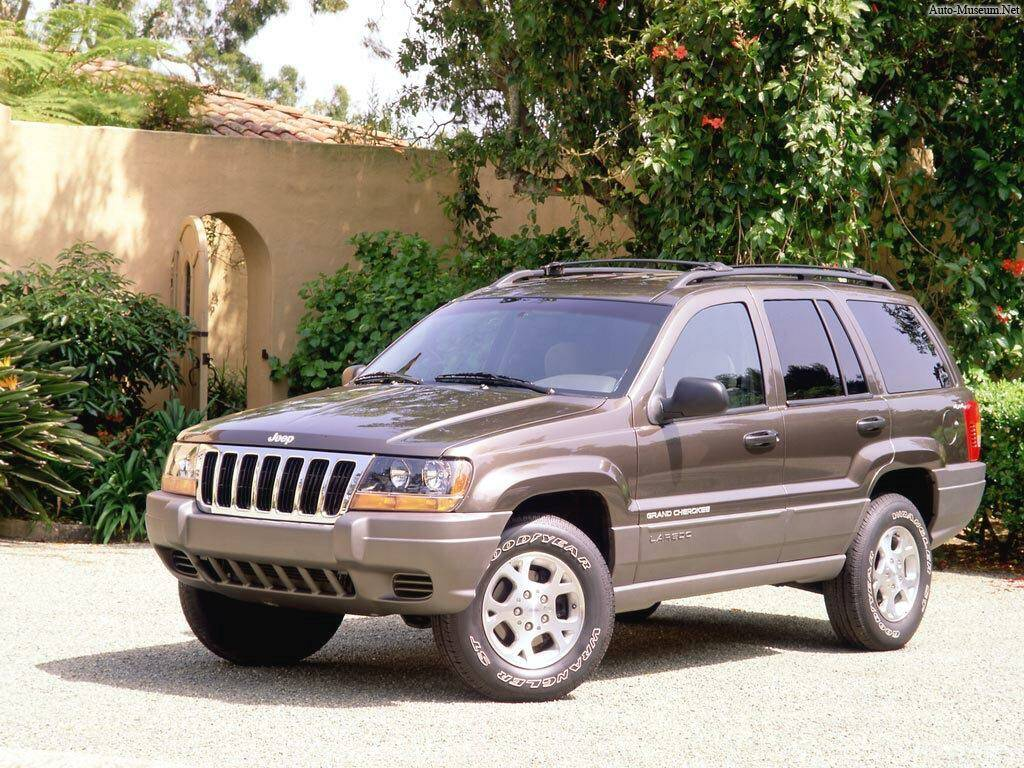 fiche technique jeep grand cherokee ii 4 0 v8 1999 2004. Black Bedroom Furniture Sets. Home Design Ideas