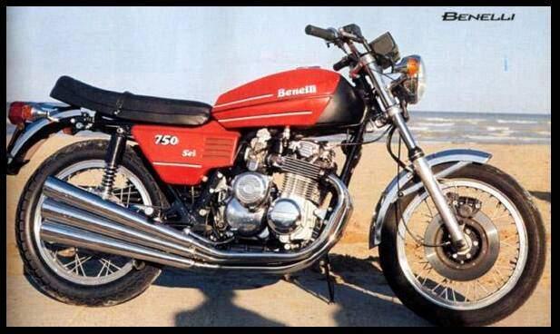 Benelli 750 Sei (1973-1977),  ajouté par portos