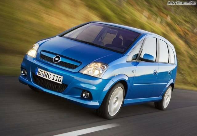 Opel Meriva OPC (2007),  ajouté par caillou