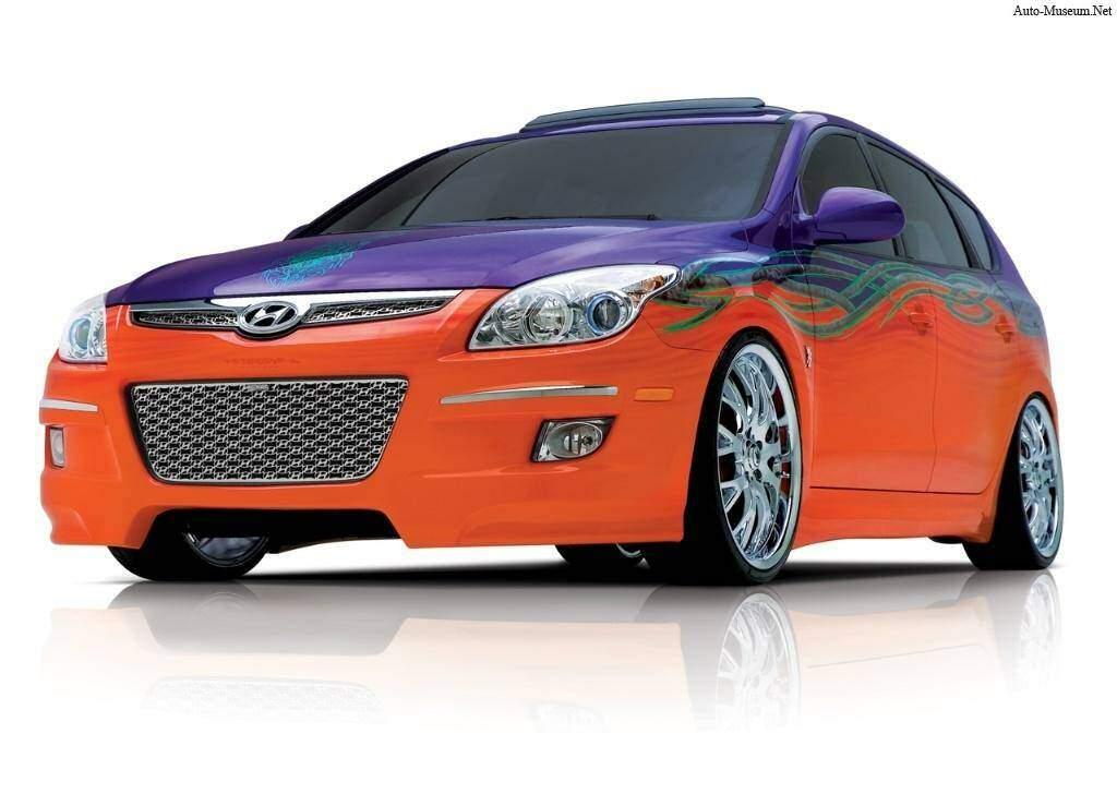 Hyundai Elantra Touring Beach Cruiser Concept (2007),  ajouté par fox58