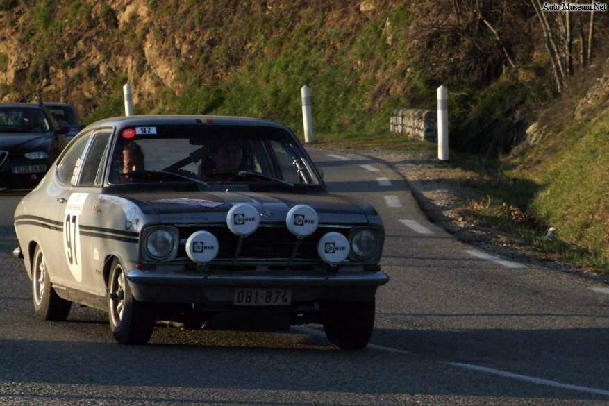 Opel Kadett II Rallye 1900 (1967-1973),  ajouté par manudup