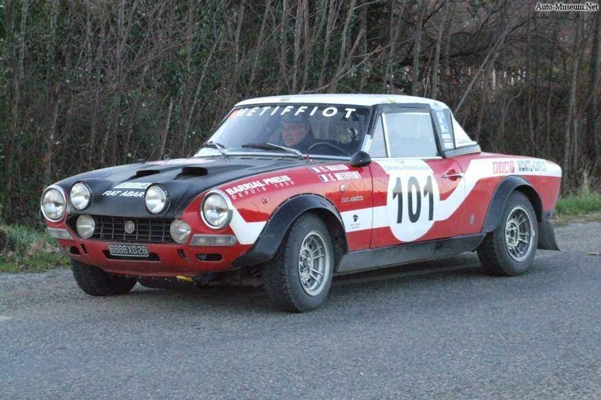 Fiche technique fiat 124 sport spider abarth rally 1972 1974 - Fiat 124 coupe sport fiche technique ...