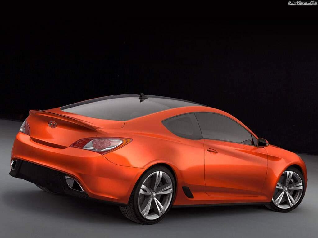 Hyundai Genesis Coupé Concept (2007),  ajouté par Raptor