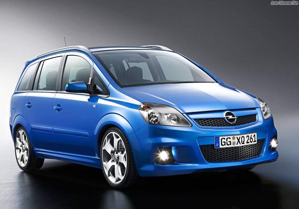 Opel Zafira II OPC (2005-2010),  ajouté par caillou