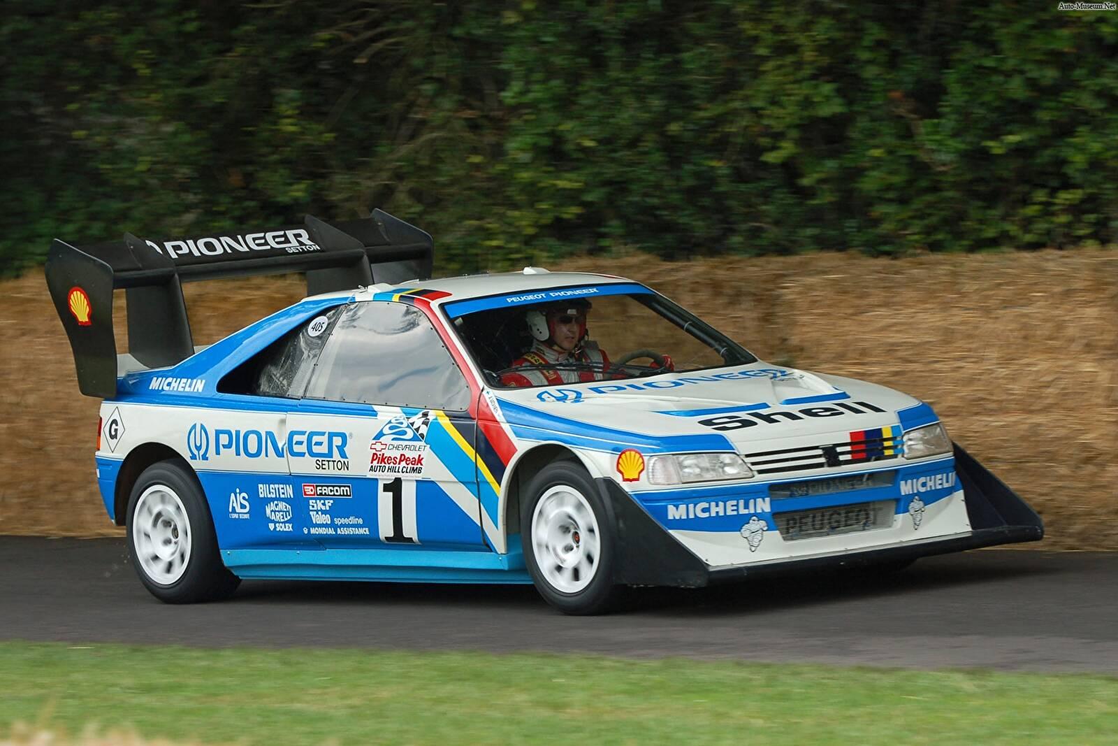 Fiche Technique Peugeot 405 T16 Pikes Peak (1988-1989